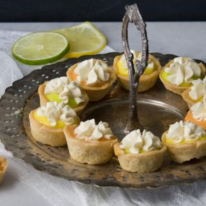 Sugar Cookie Citrus Tarts