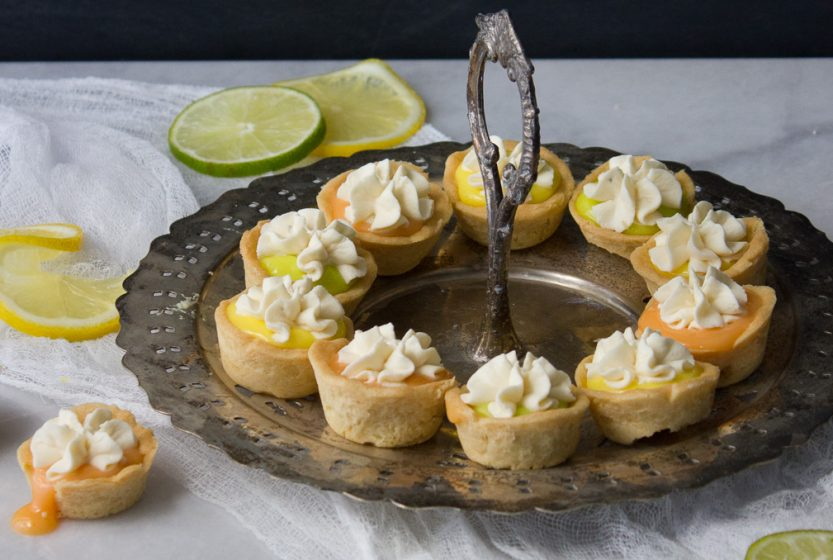Sugar Cookie Citrus Tarts - I Say Nomato