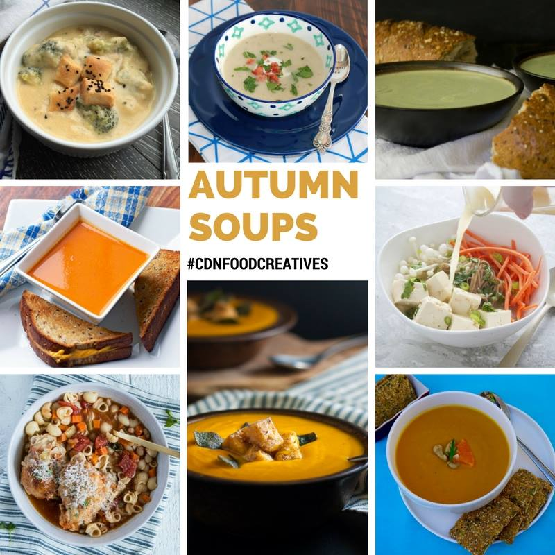 Autumn Soups - Canadian Food Creatives