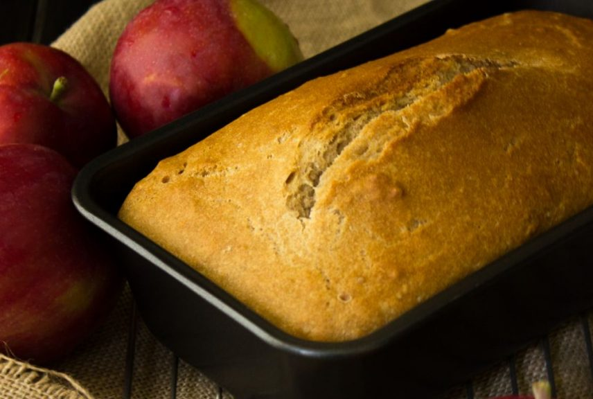 Apple Cider Bread - I Say Nomato