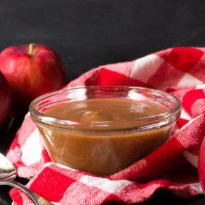 Pumpkin Spice Crockpot Applesauce