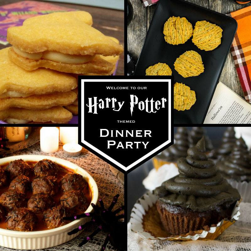 Harry Potter Themed Dinner Party - I Say Nomato Nightshade Free Food Blog