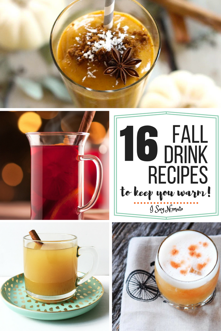 16 fall drink recipes to keep you warm i say nomato for Fall cocktail ideas