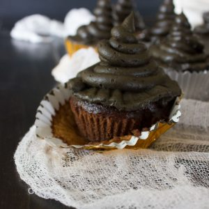 Sorting Hat Cupcakes and a Harry Potter Dinner Party!