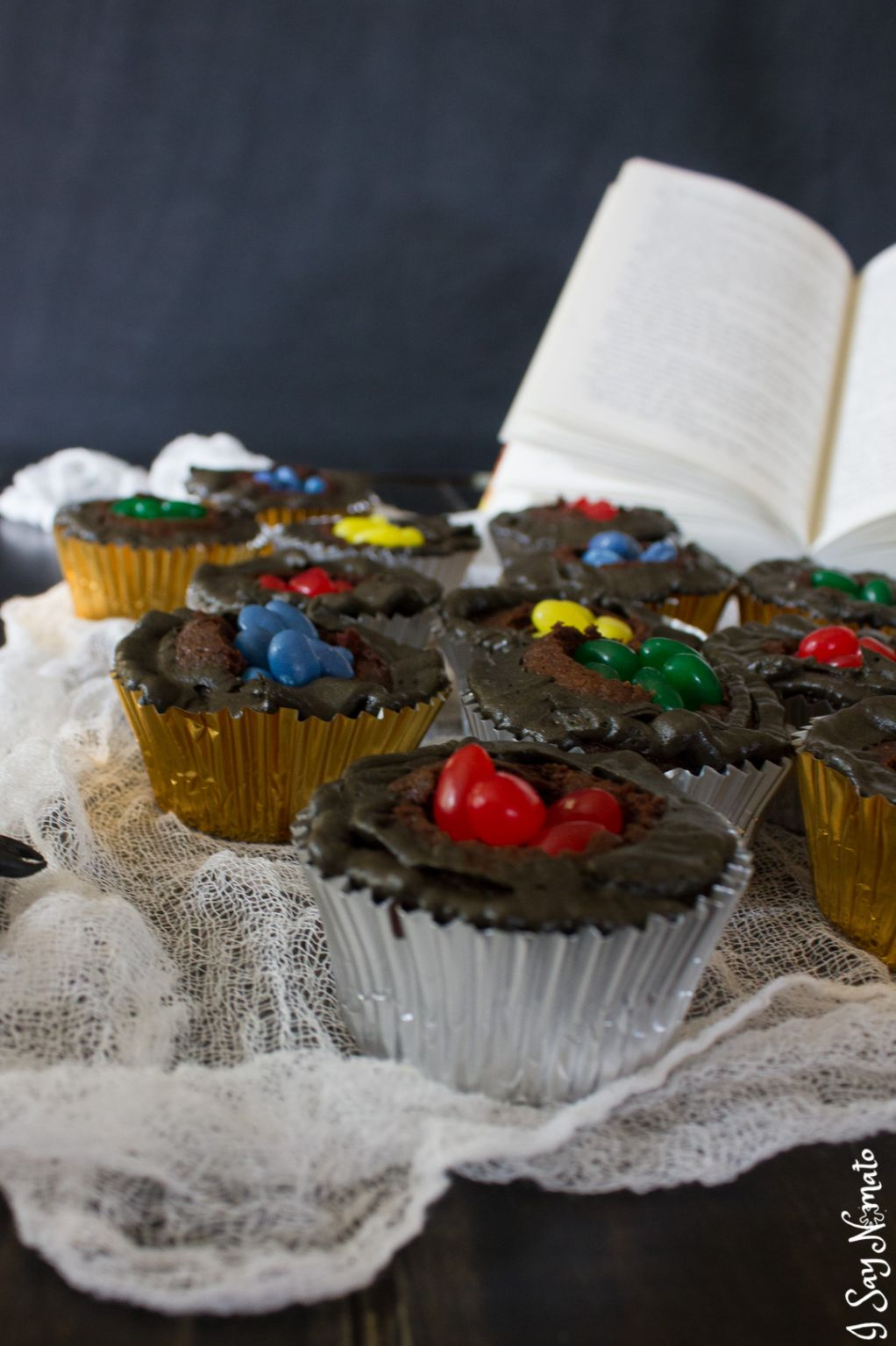 Sorting Hat Cupcakes And A Harry Potter Dinner Party I