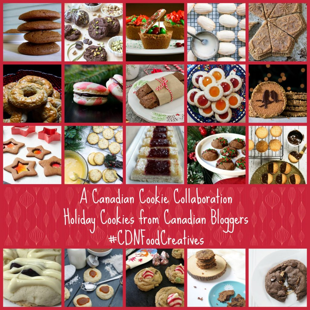 Canadian Cookie Collaboration (Canadian Food Creatives) - I Say Nomato Nightshade Free Food Blog