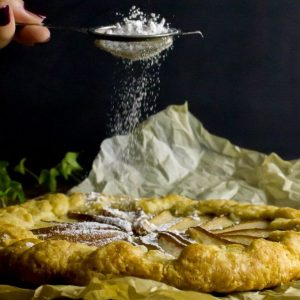 Frangipane and Pear Galette