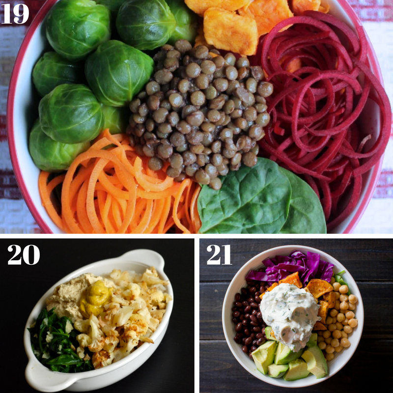 21 Healthy Bowl-Based Recipes - I Say Nomato Nightshade Free Food Blog
