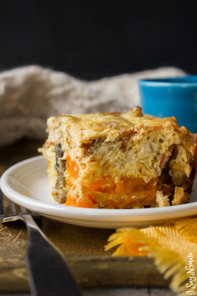 Slow Cooker Breakfast Casserole - I Say Nomato Nightshade Free Food Blog