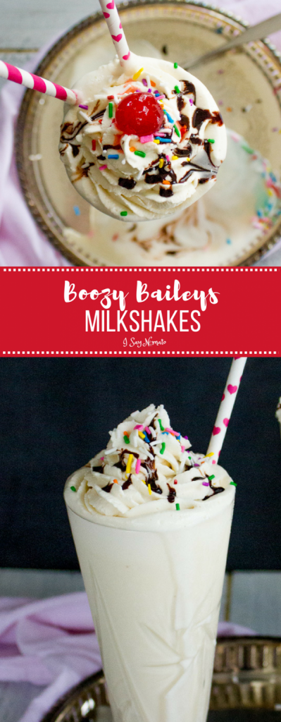 This Boozy Baileys Milkshake proves that milkshakes aren't just for kids! Made with vanilla ice cream, creme de cacao, and of course, Baileys, you can have your fun and eat it too!