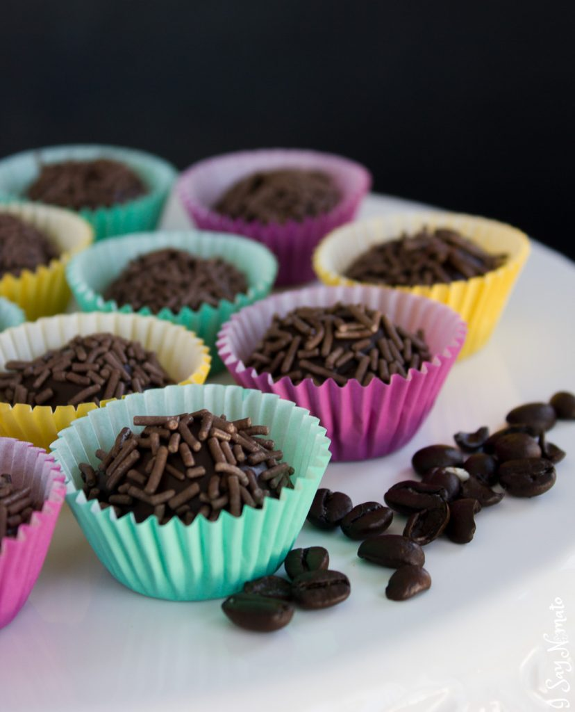 Coffee Bean Brigadeiros are deliciously chocolaty bites that will brighten up your day. The perfect addition to any party, brigadeiros are a traditional Brazilian treat!