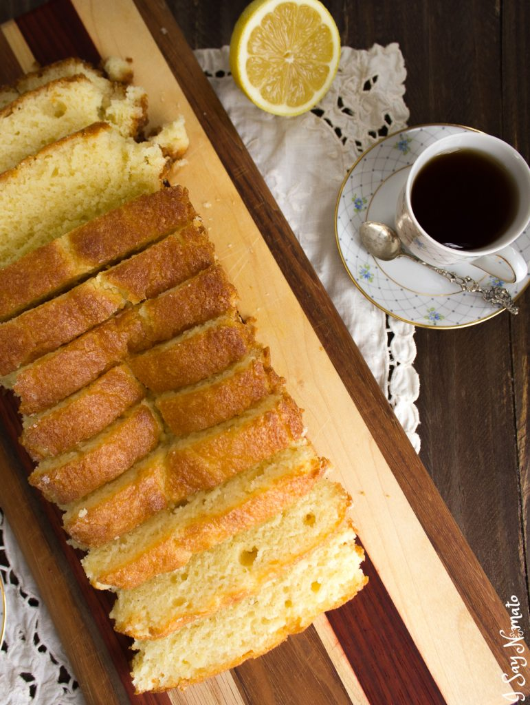 This Lemon Bread with Lemon Glaze is the perfect sweet bread to bring to any potluck. Light and fluffy with a sweet sugary top, it never fails to bring a smile!