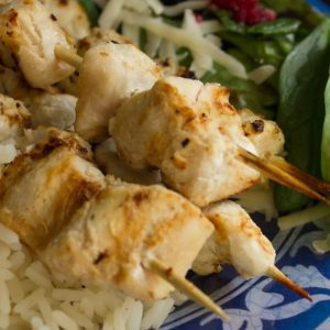 Mediterranean Chicken Kebabs – Around the World in 12 Plates