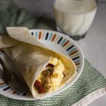 This Breakfast Egg Wrap is the perfect way to start your morning. Full of delicious local eggs, it's great to #wakeuptoyellow!