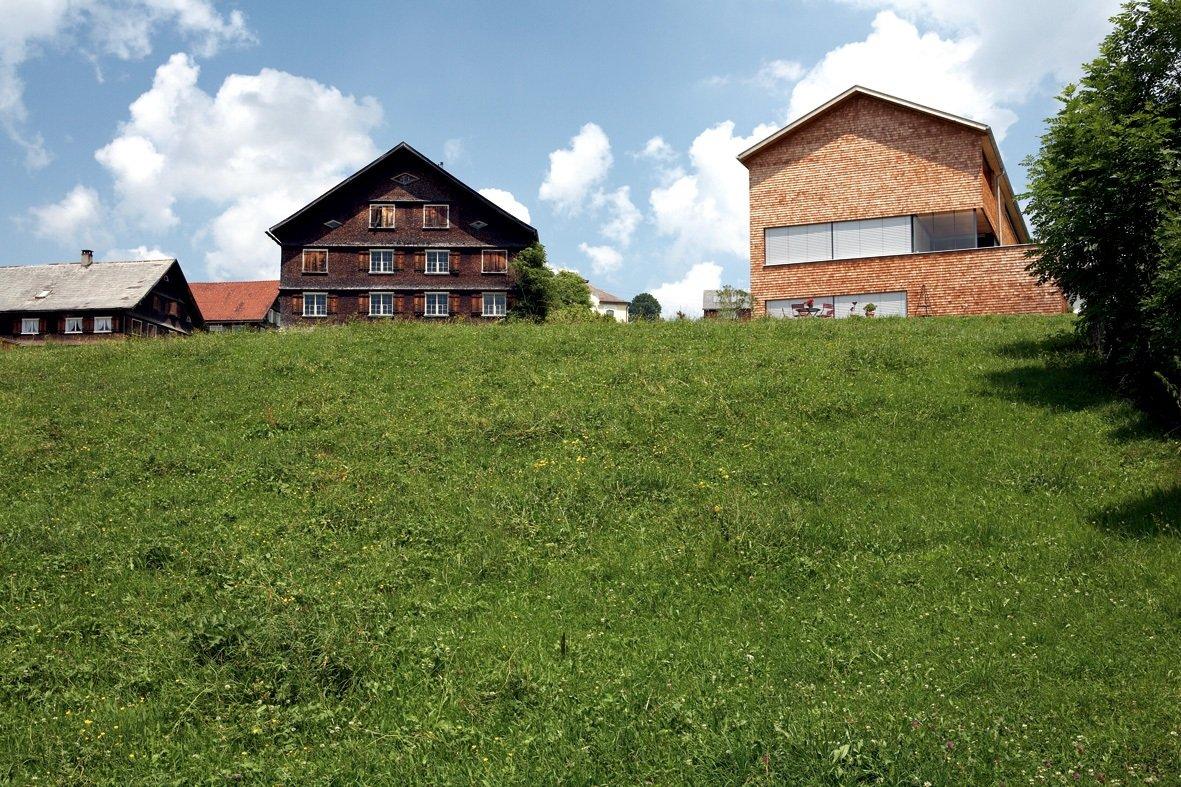 Modern wooden architecture Vorarlberg © Christoph Lingg_Bregenzerwald Tourismus
