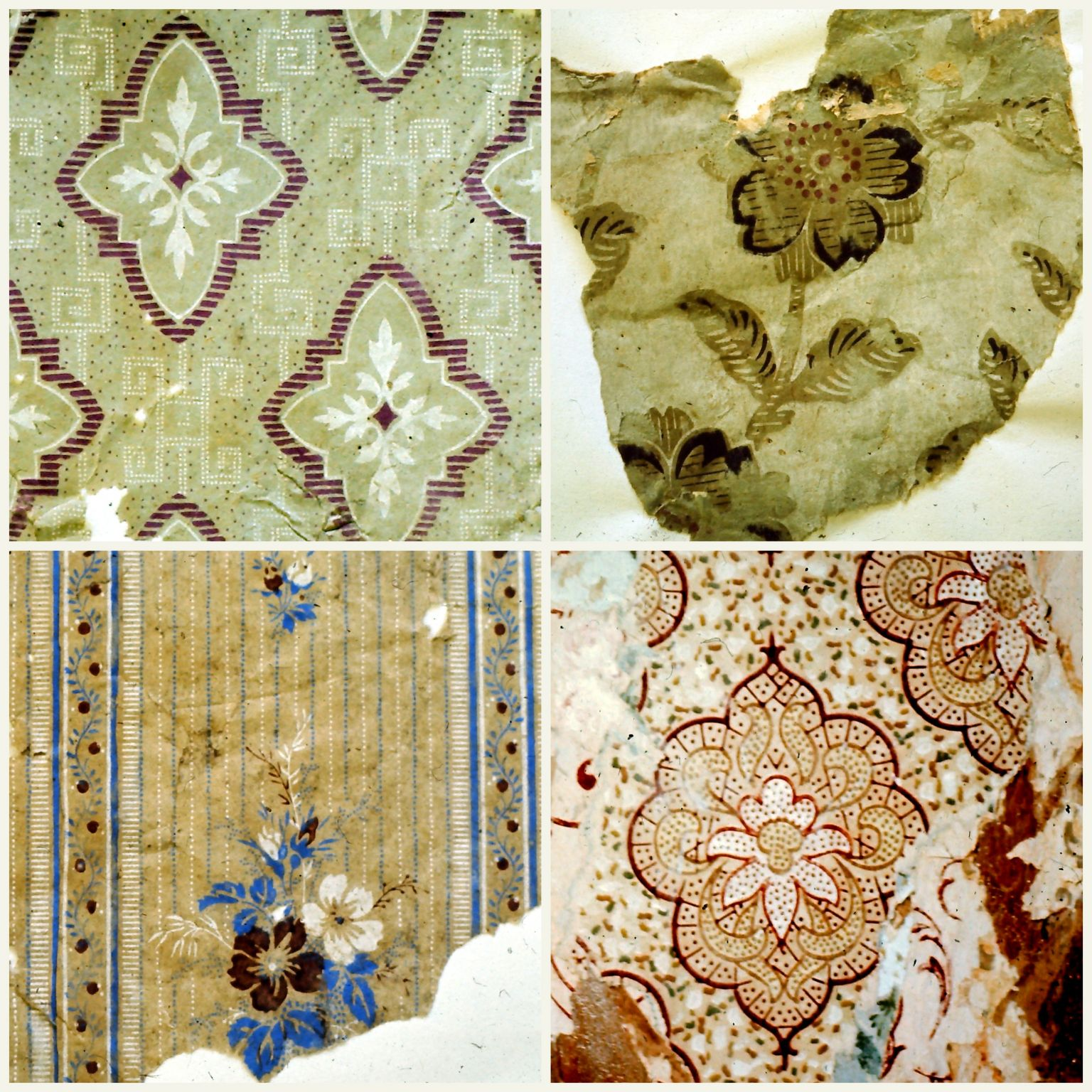 Counting flowers on the wall: noticing the wallpaper | Noticed in ...