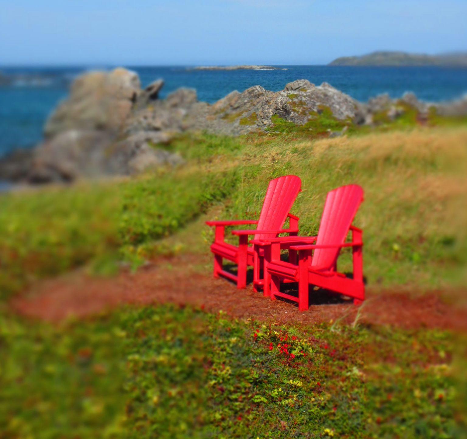 Outdoor Furniture   Noticed in Nova Scotia