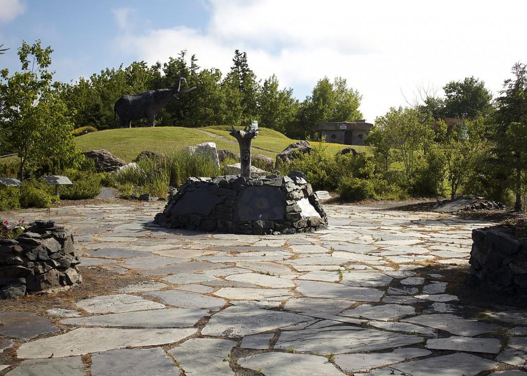 Mastodon Statue Nova Scotia