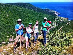 Cabot Trail Three Peak Challenge Nova Scotia