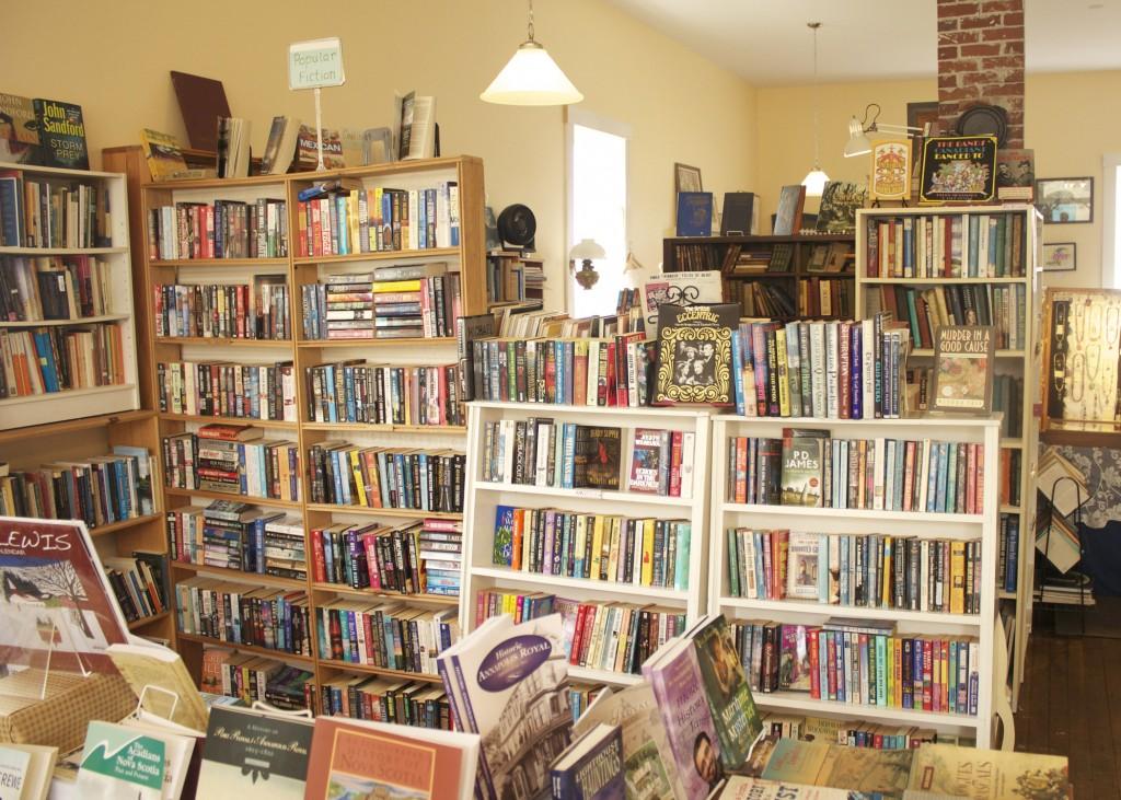 Book Store Annapolis Royal Nova Scotia