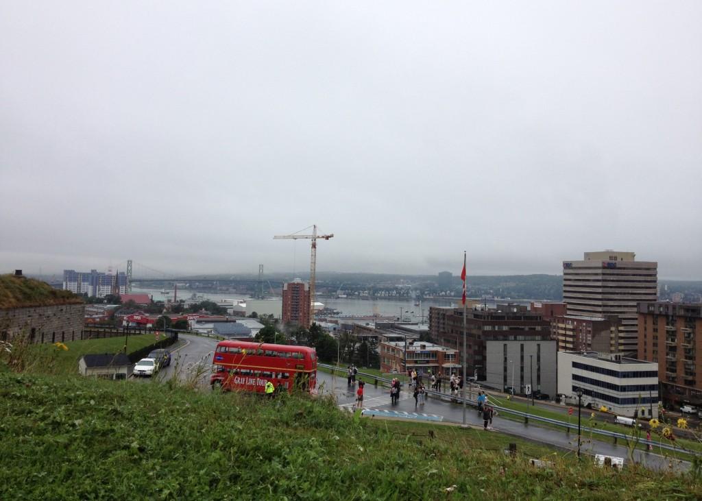 View from Citadel Hill Halifax Nova Scotia