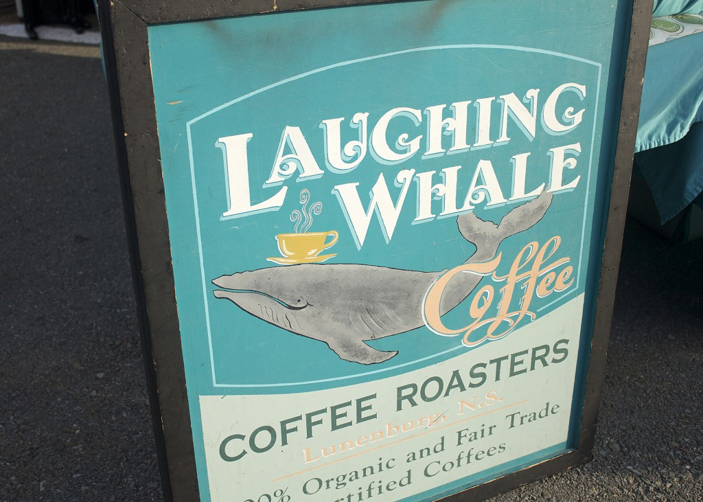 Lunenburg Market Laughing Whale Coffee