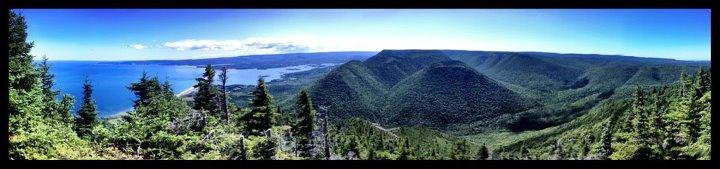 Sugar Load Mountain Cape Breton Three Peak Challenege