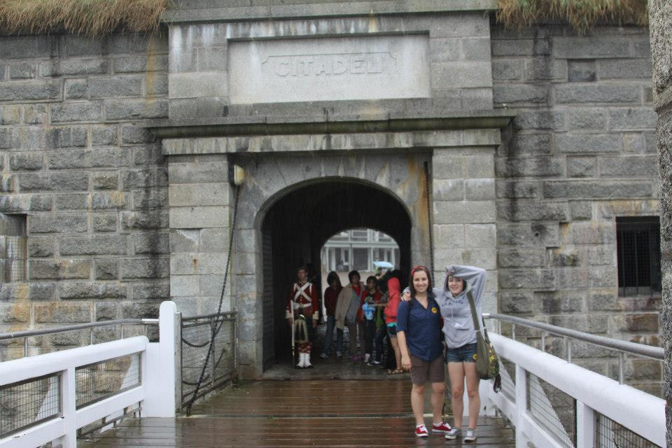 Halifax Citadel Tourist Nova Scotia