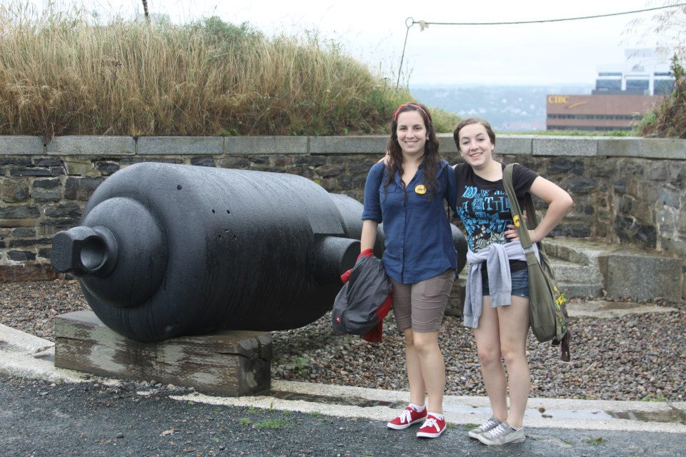 Citadel Hill Halifax Nova Scotia Cannon