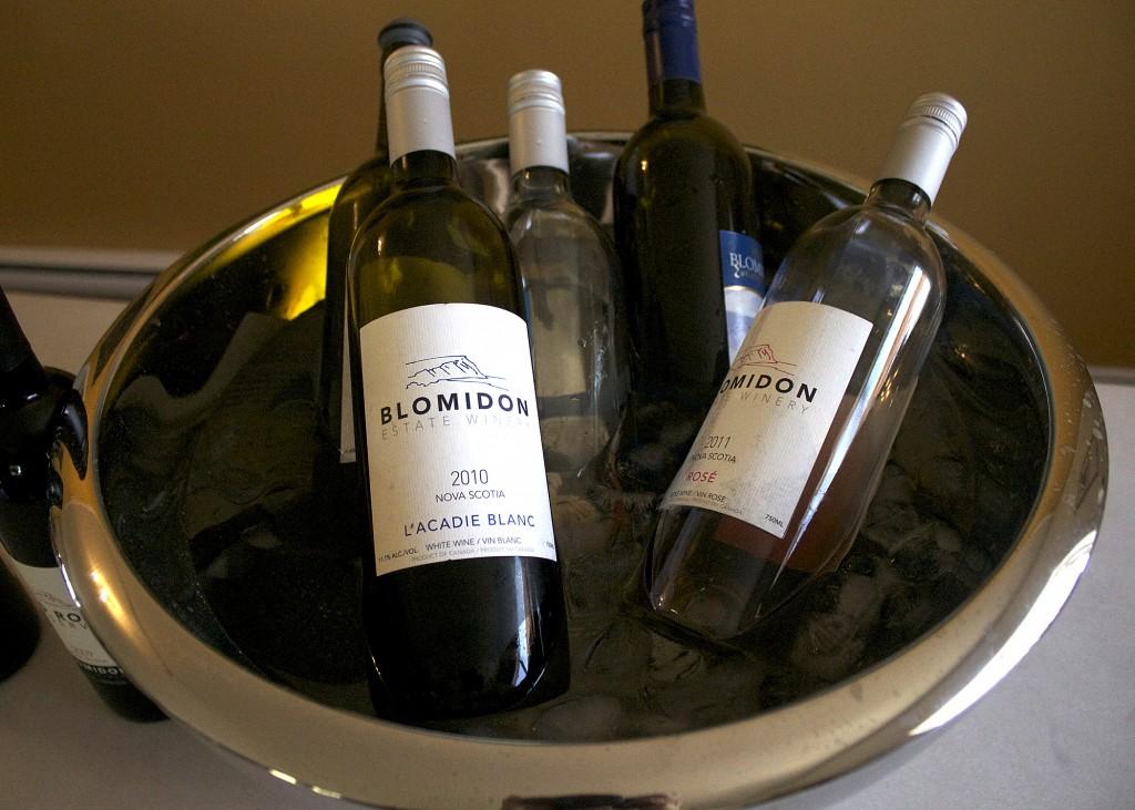 Blomidon Wine Samples
