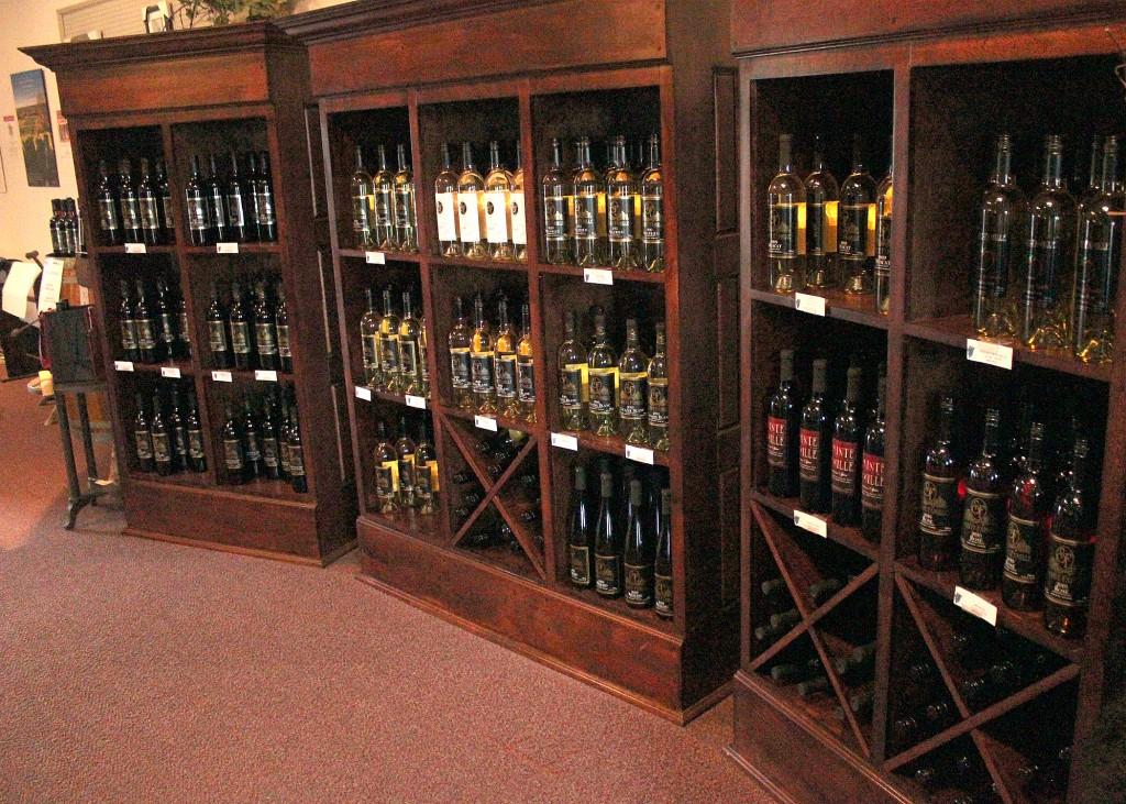 Sainte Famille Winery Interior