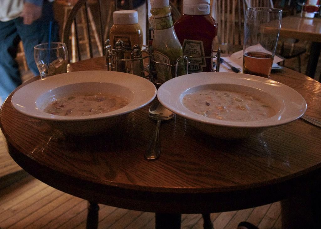 Taste of NS chowder Trail Lobster Chowder and Seafood Chowder Inverary Inn Cape Breton