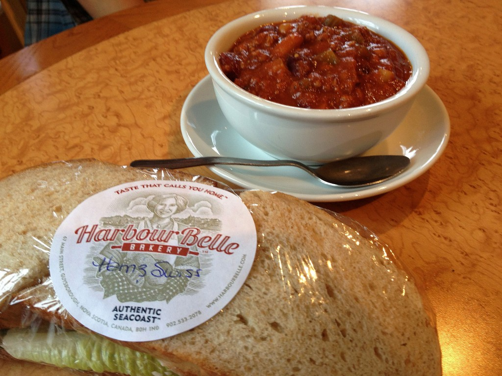 chili sandwiches Guysborough great fall meals