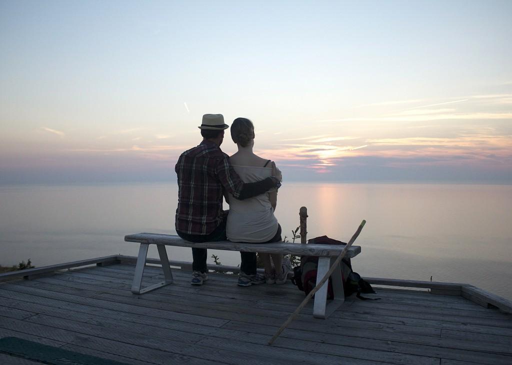 Sunset Love Nova Scotia Highlands Cabot Trail