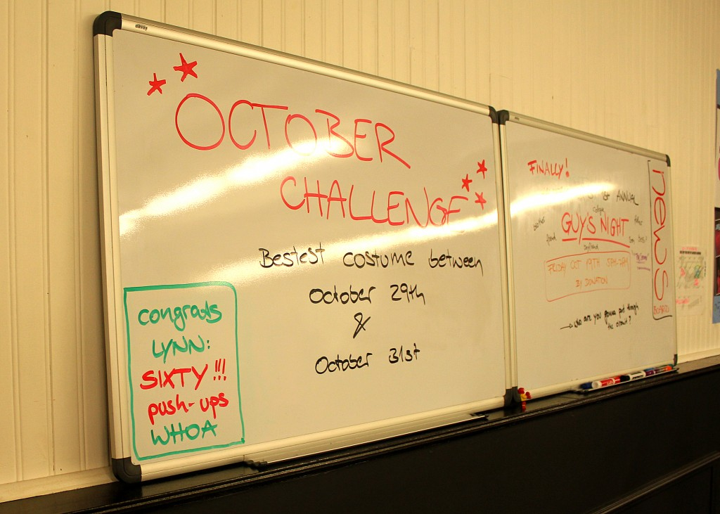 October Challenge 30 minute hit great workout Halifax
