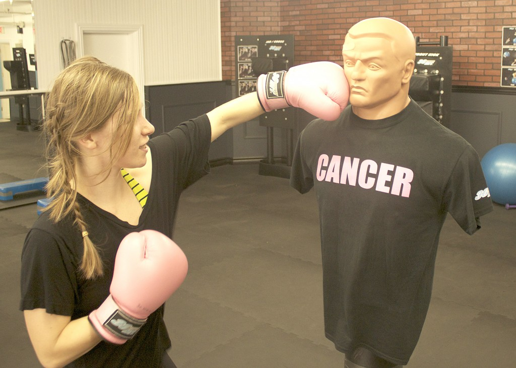 Boxing Female Pink Gloves Gym Workout