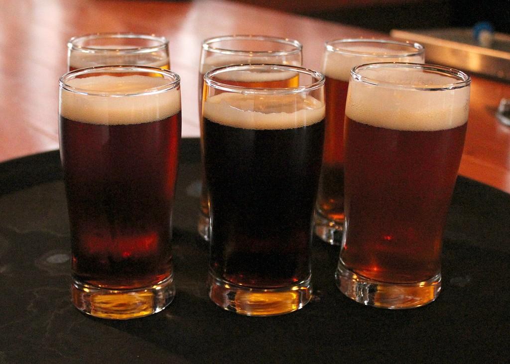 Garrison Beer Sampler Wheat Free Beer Local Craft Brewery Nova Scotia