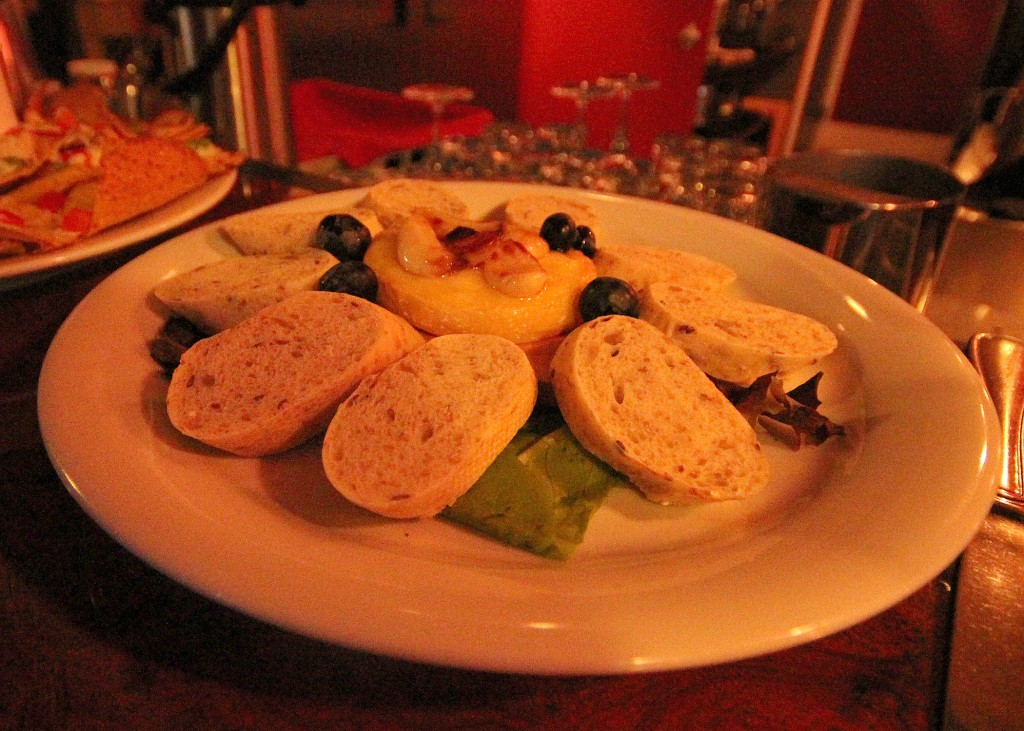 Baked Brie Bistro East Blueberries Caramelized Garlic places to eat in Annapolis Valley