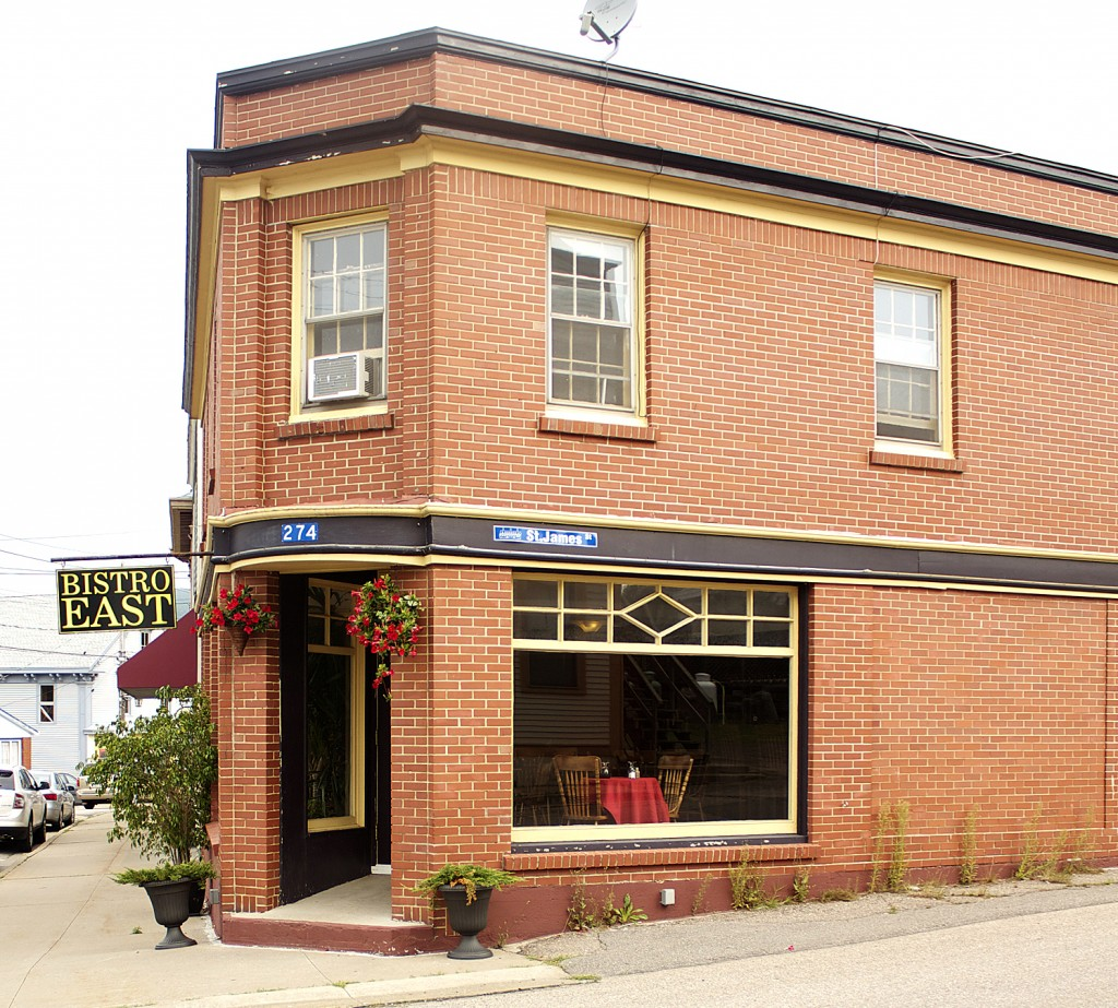 Bistro East Places to eat in Annapolis Royal Good Food Nova Scotia