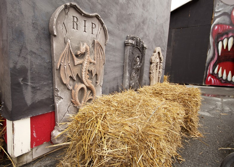 Halloween Decorations Gravestones RIP