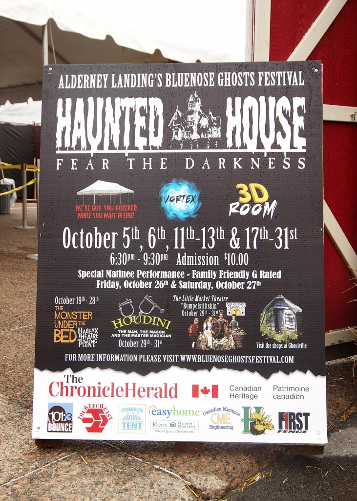 Bluenose Ghost Festival Schedule Event In Halifax October