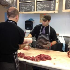 Meat Mongers Getaway Farms Seaport Market Halifax NS