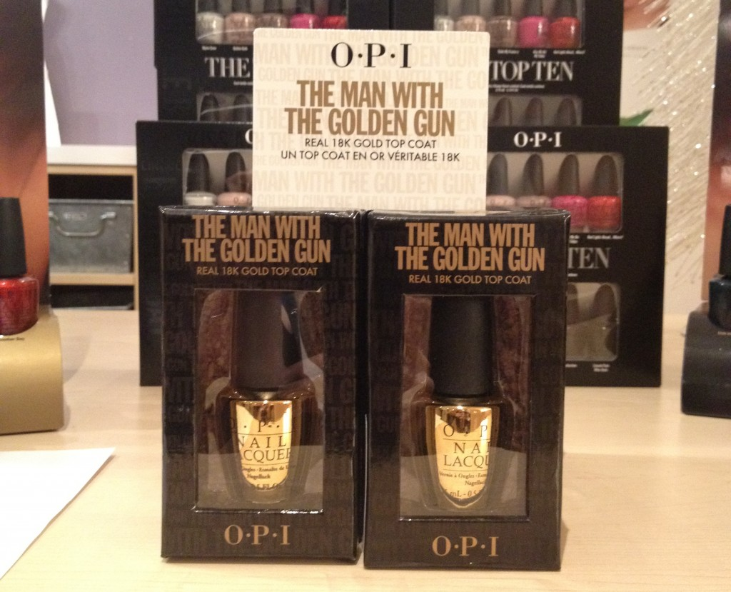 OPI James Bond Special Edition