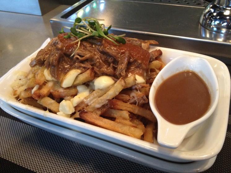 Boar Poutine Fries, Gravy, Boar Tide and Boar Restaurant