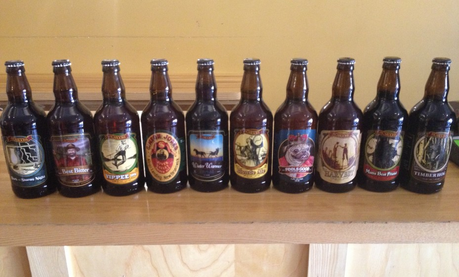 Picaroons Beer Bottles Full Lineup New Brunswick Beer Craft Ale