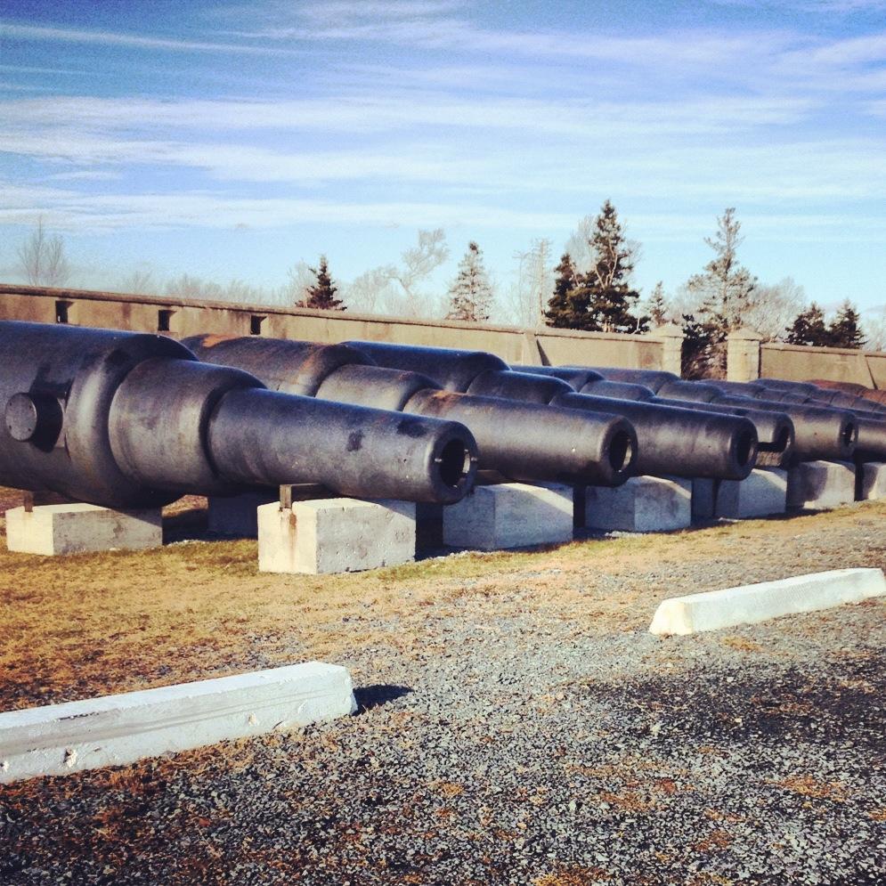 halifax nova scotia cannons york redoubt historic site dog friendly spaces places