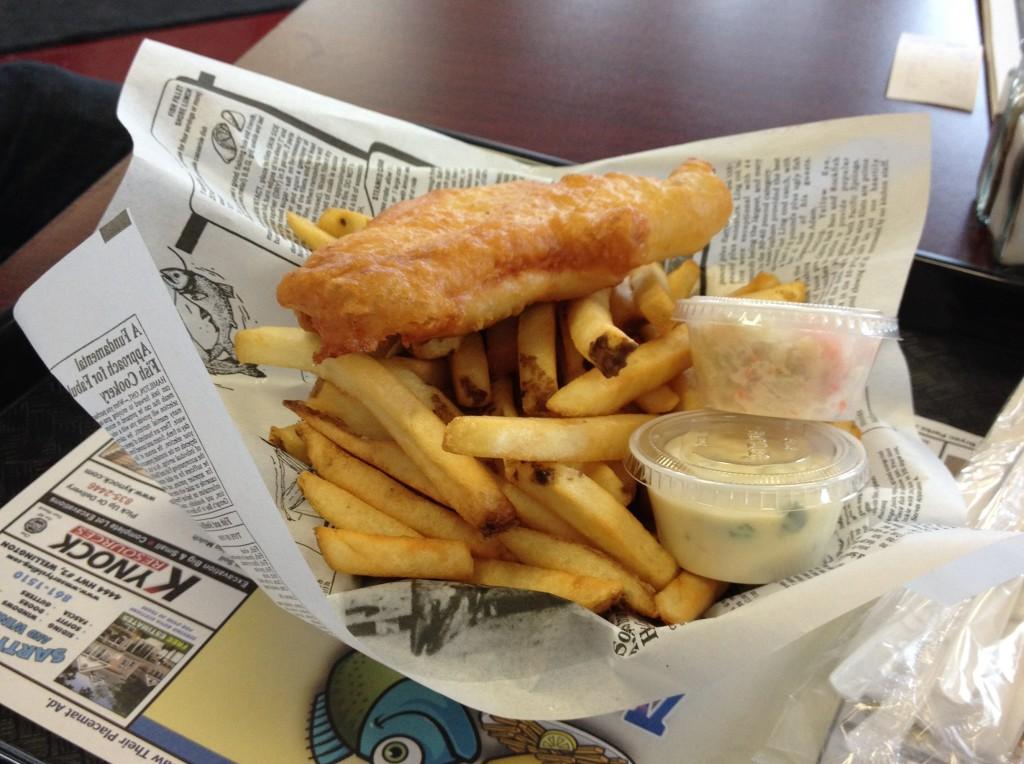 Acadian Fish and Chips NS