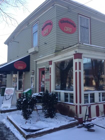 Exteriour Chebucto Coffee Halfiax Coffee Shop Java Blend