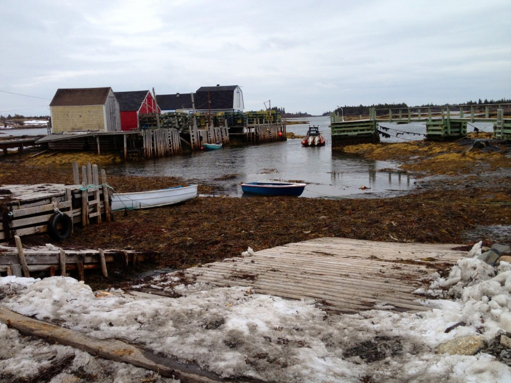 Blue Rocks New Lunenburg Nova Scotia day trip