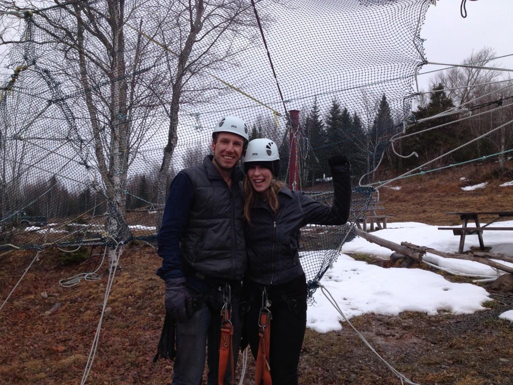 Ziplining In Nova Scotia